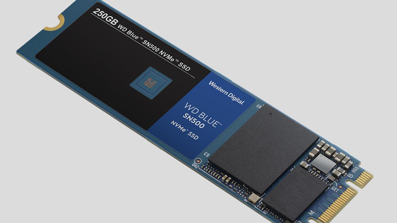 WD Blue SN500 SSD: Bei Western Digital wird PCIe zum Mainstream
