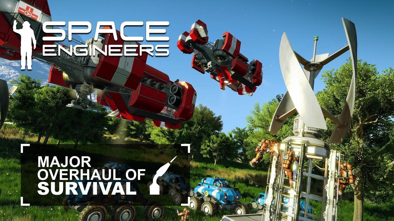 Space Engineers: Spiel verlässt Early Access nach sechs Jahren