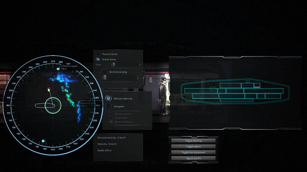 Screenshot aus Barotrauma
