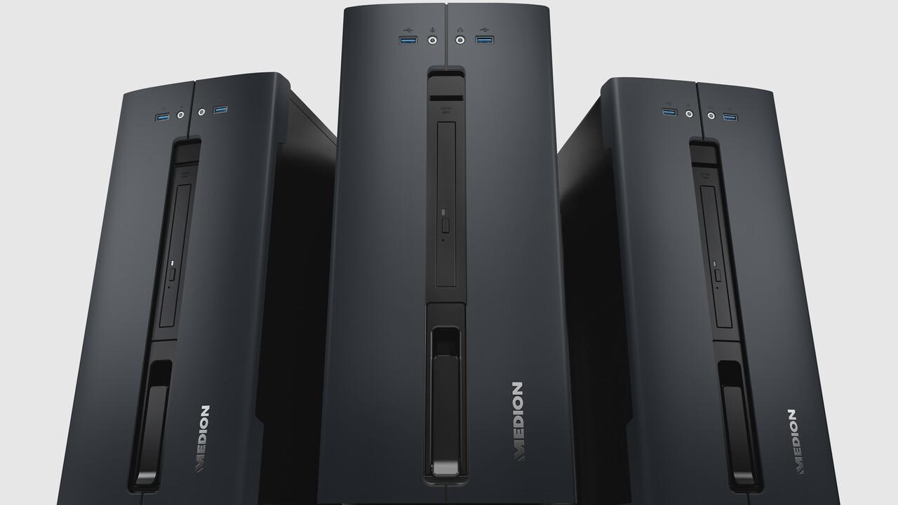 Medion Akoya P32010: Ein neuer Aldi-PC mit Ryzen-APU für 499 Euro