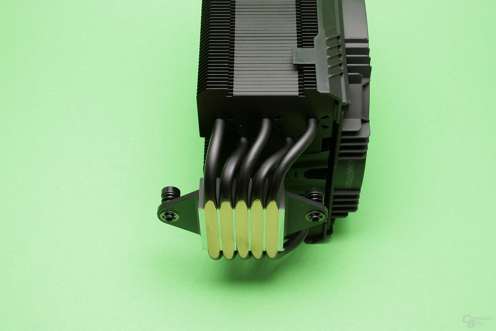 Enermax ETS-T50 Axe Silent Edition: Versetzter Kühlturm
