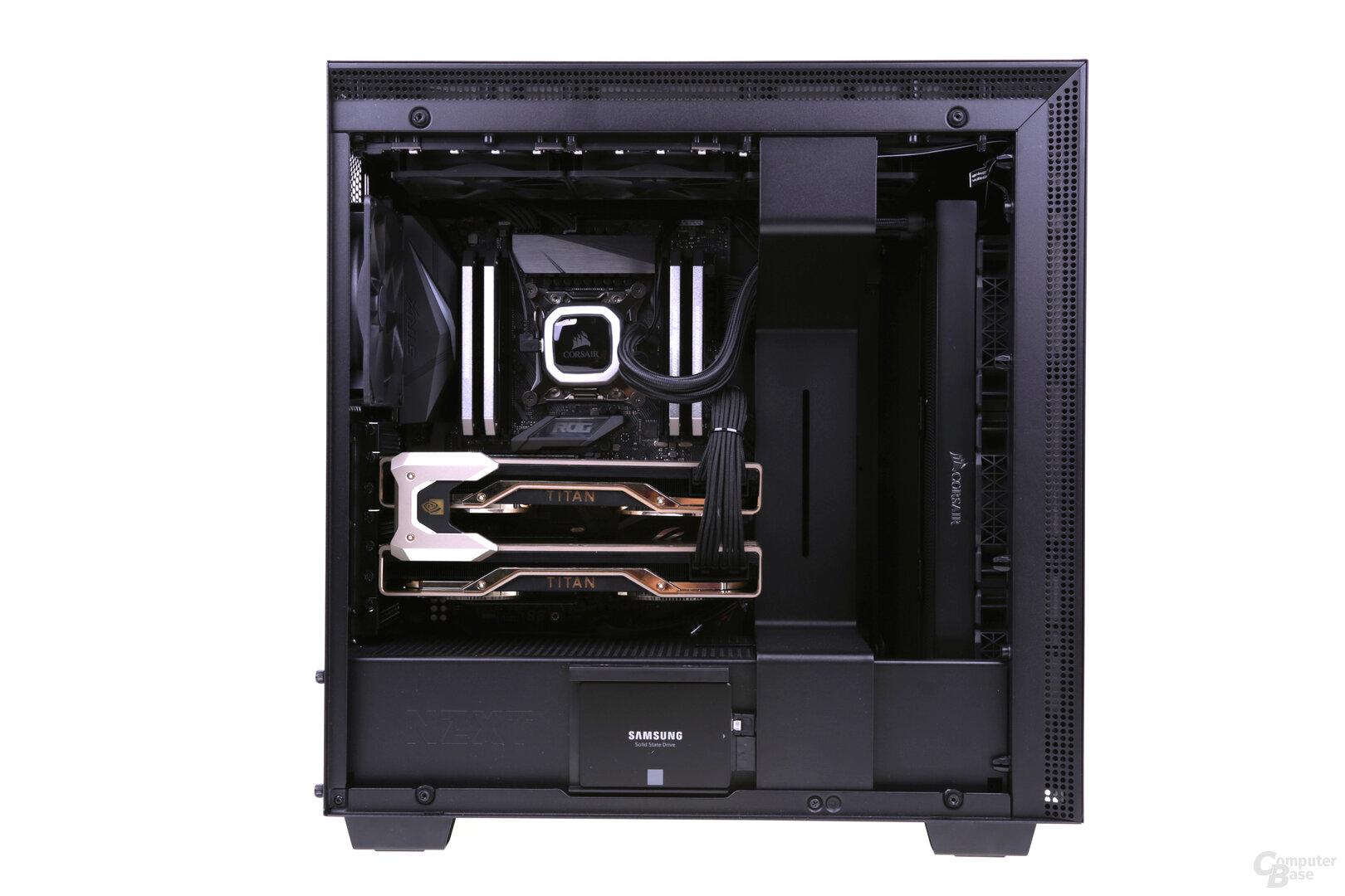 Mifcom-PC mit 2 × Titan RTX im Test
