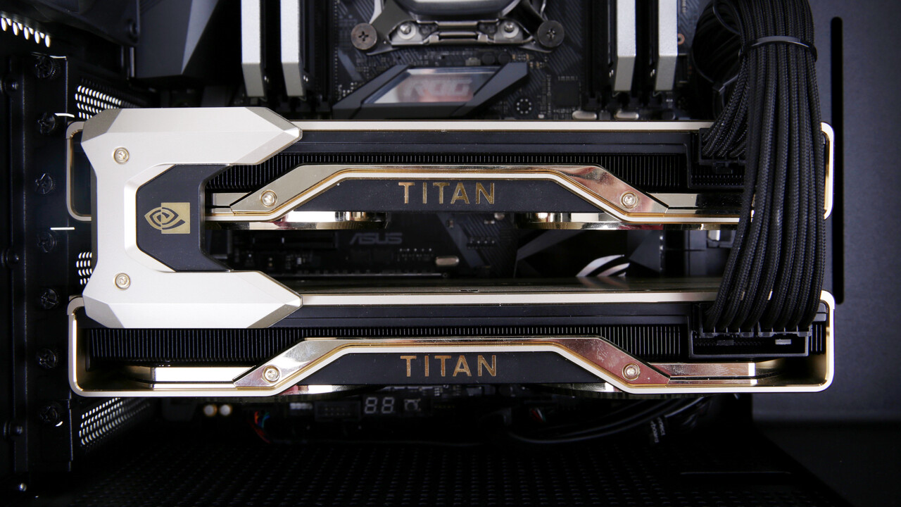 Nvidia Titan RTX im Test: Das Turing-Topmodell im High-End-PC von Mifcom