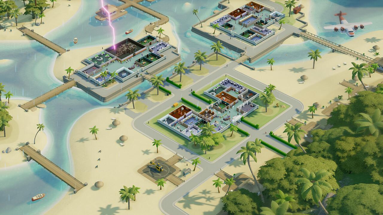 Two Point Hospital: Pebberley-Island-DLC führt den Spieler in den Dschungel