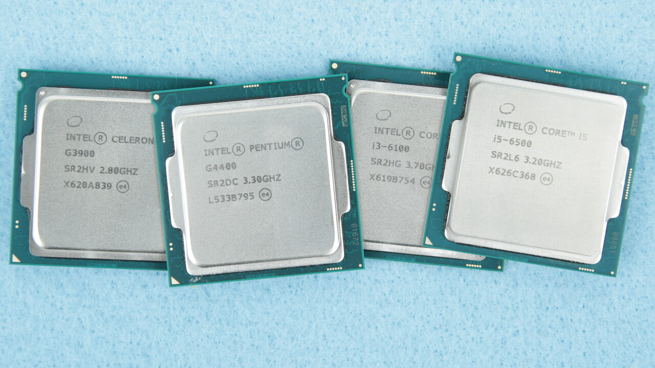 Intel: 19 Skylake-Prozessoren werden eingestellt