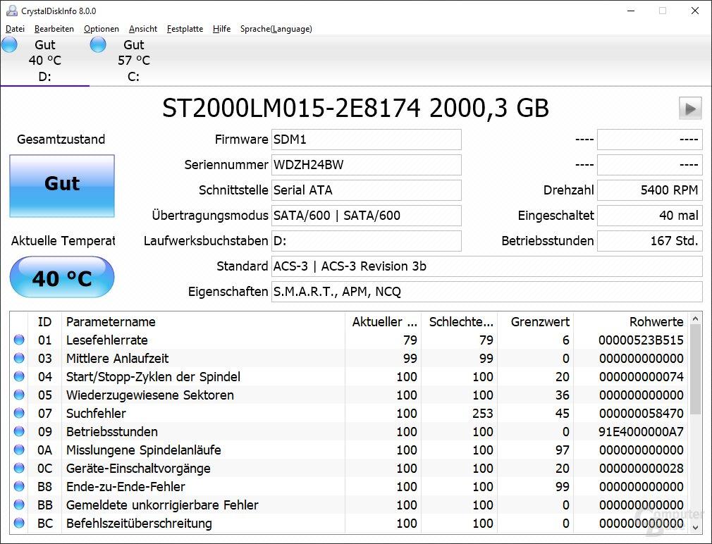 Die 2-TB-HDD kommt von Seagate