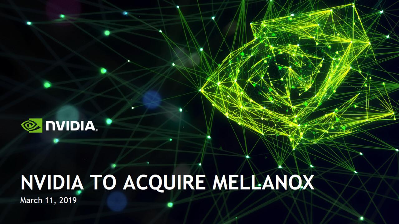 Übernahme: Nvidia kauft Mellanox für knapp 7 Mrd. US-Dollar