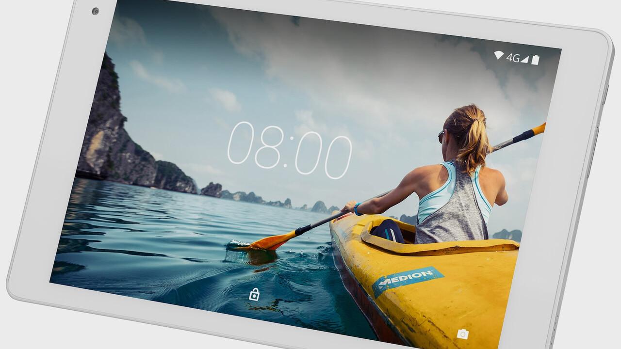 Medion Lifetab  X10605: LTE-Tablet ab 14. März bei Aldi Süd günstiger erhältlich