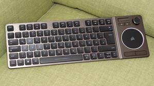 Corsair K83 im Test: Die HTPC-Tastatur mit Joystick ist kein Controller-Ersatz