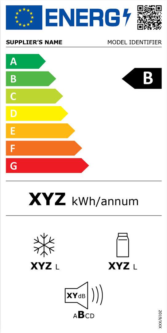 Energieeffizienzkennzeichnung für Kühlschränke