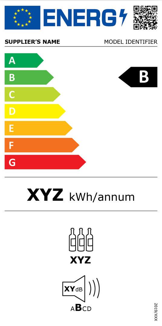 Energieeffizienzkennzeichnung für Weinkühlschränke