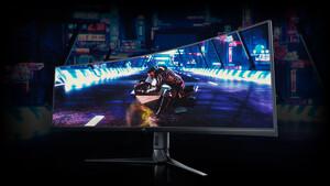 Curved-Monitore: Acer und Asus setzen auf DualFHD in 32:9 mit 144 Hz