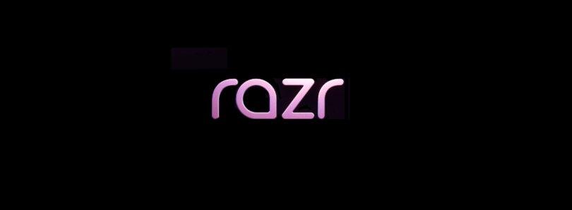 Neues Logo für das neue Motorola Razr