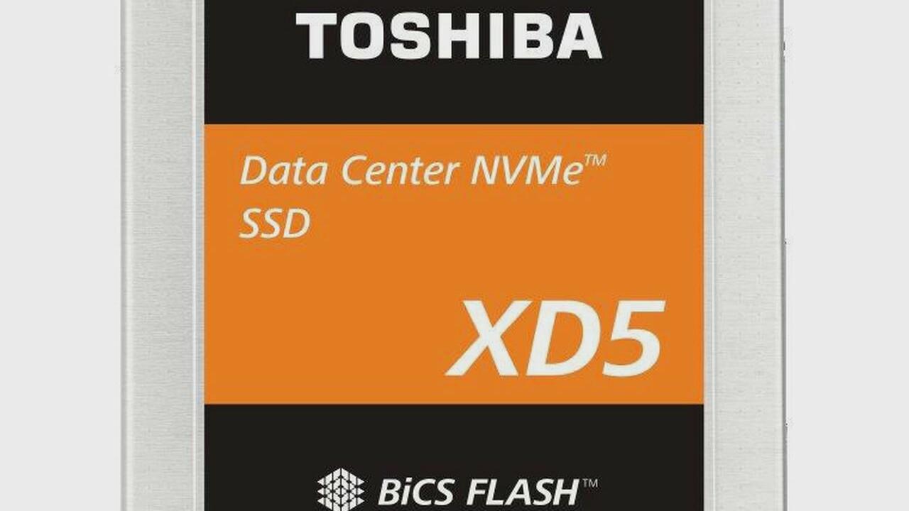 XD5 & XD6: Toshiba enthüllt Server-SSDs und nennt schon Nachfolger