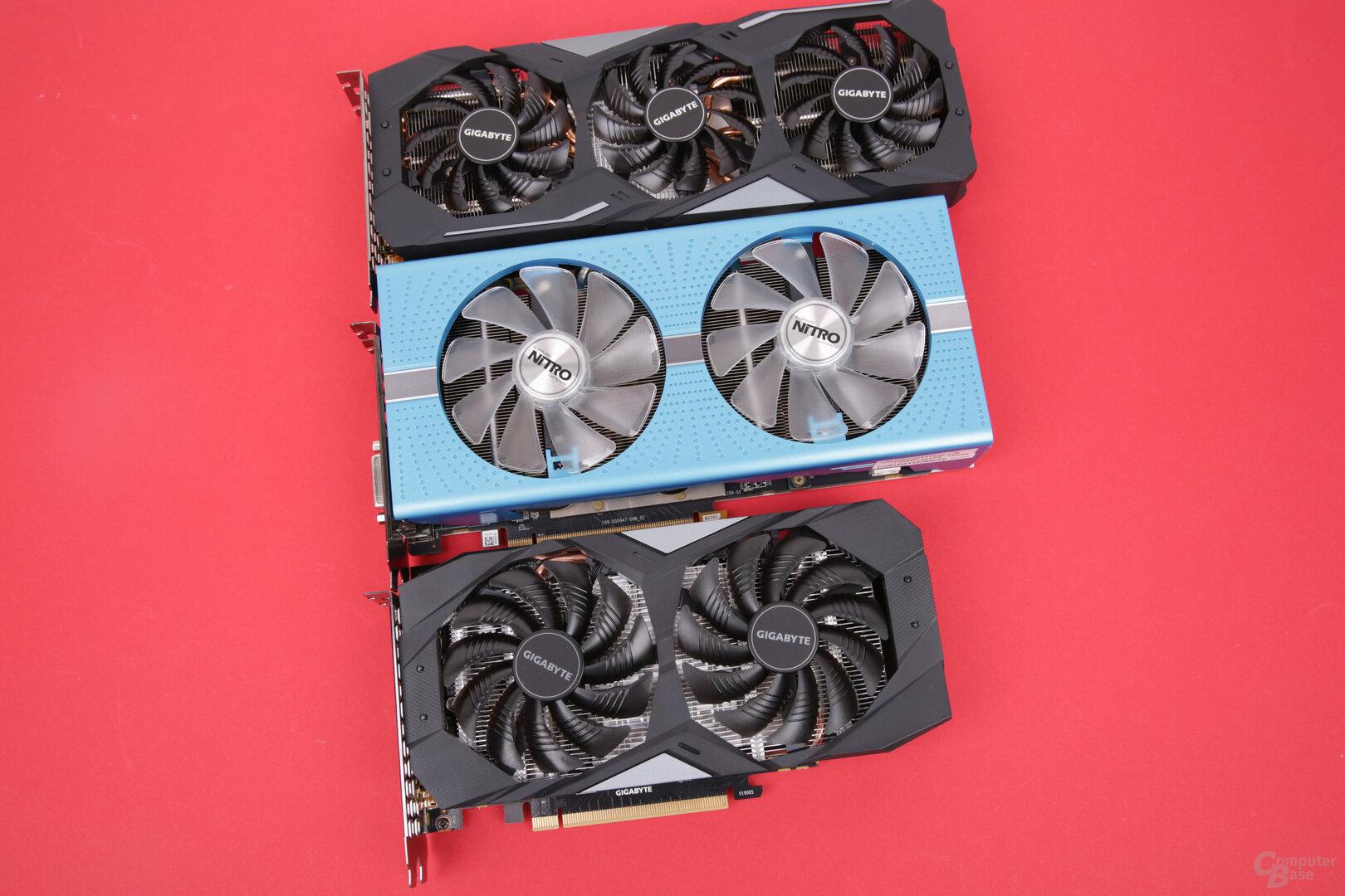 GeForce GTX 1660 vs. Radeon RX 590
