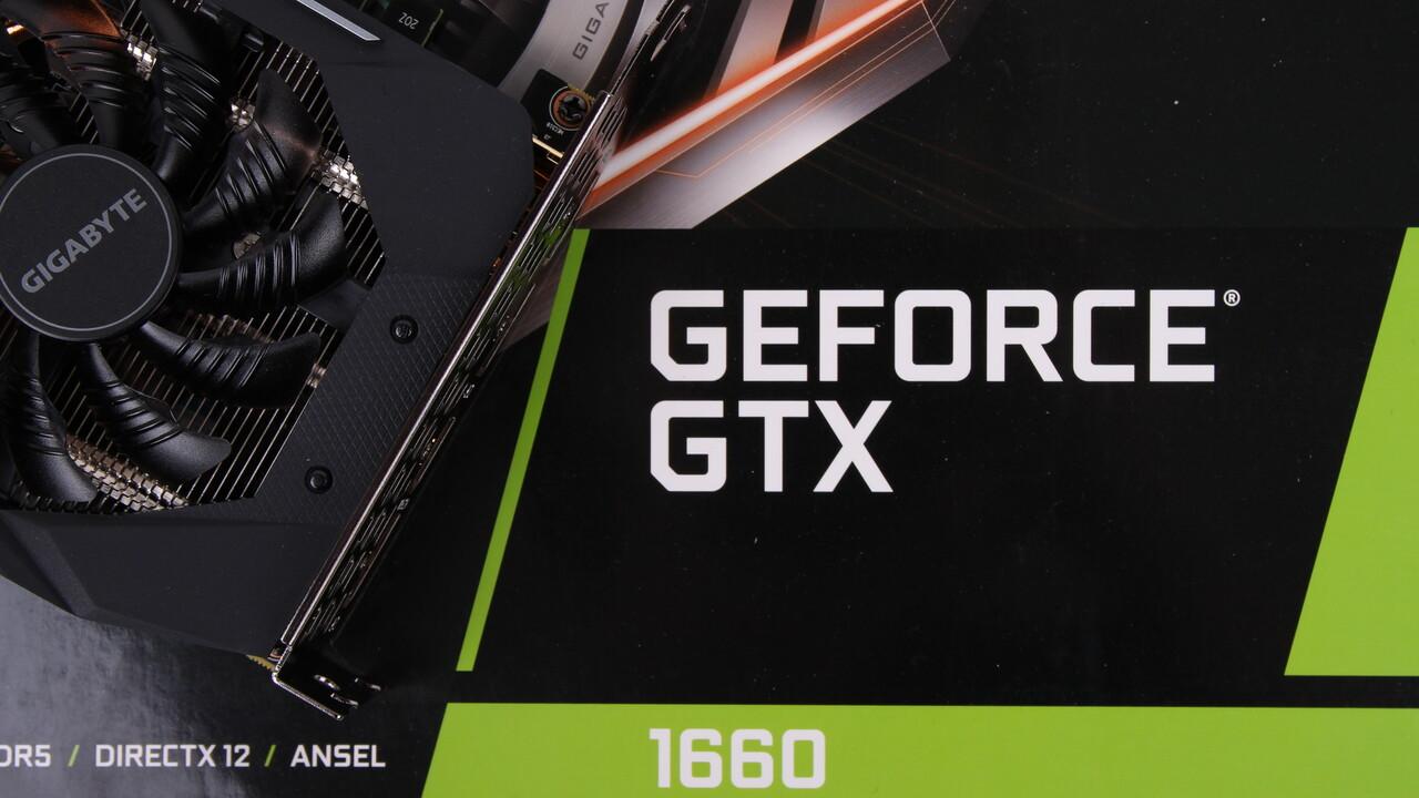 GeForce GTX 1660: Nvidias Turing-Nachwuchs ohne GDDR6 für 225 Euro