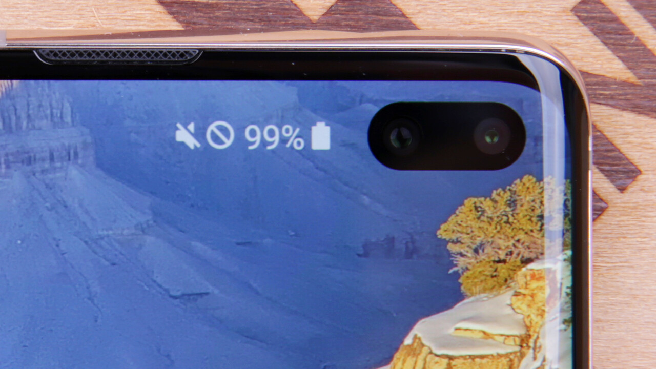 Samsung: Kameras und Sensoren sollen im Display verschwinden