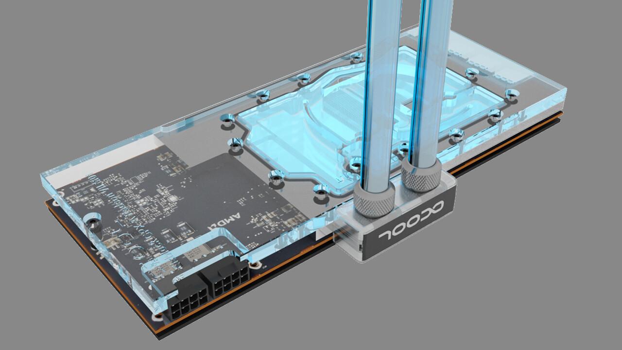 Alphacool Eisblock GPX-A: Wasserkühlung für die AMD Radeon VII