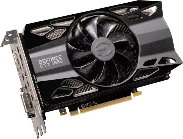EVGA GeForce GTX 1660 XC (Black)