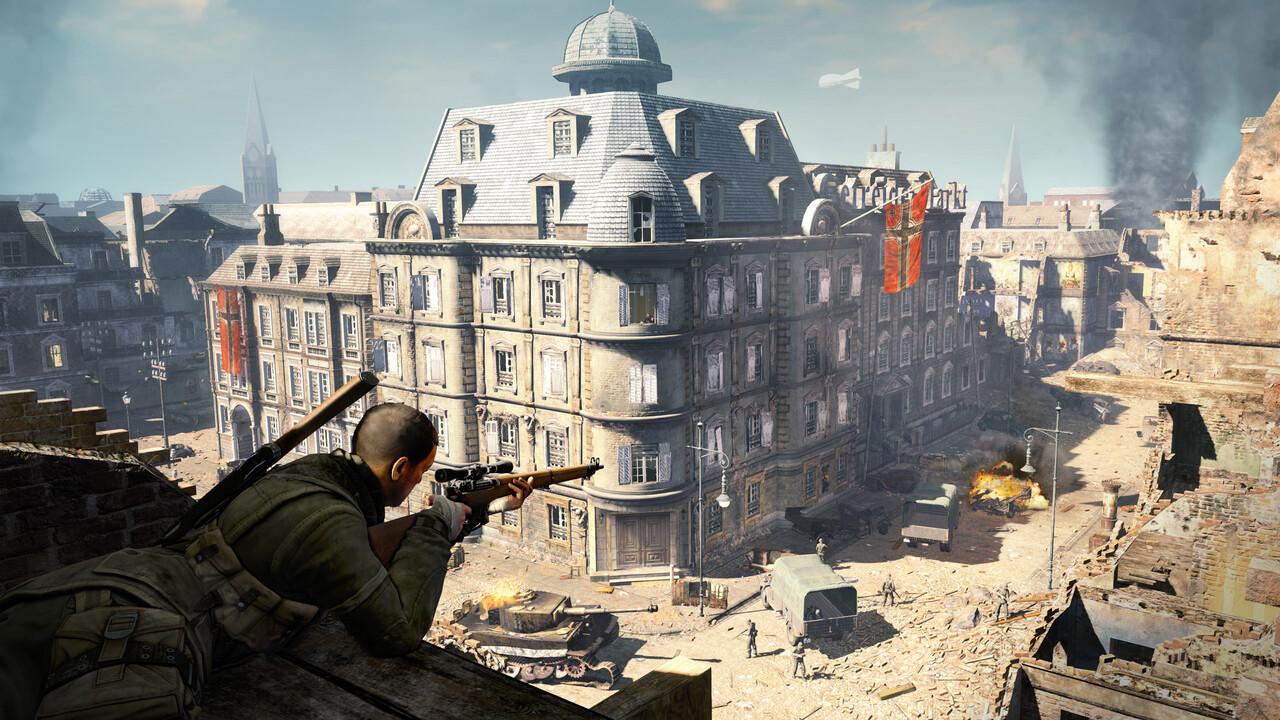 Sniper Elite: Neuer Teil 5, V2 Remastered und VR-Ableger kommen