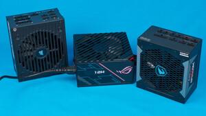 850-Watt-Netzteile im Test: Asus ROG und Gigabyte Aorus gegen Corsairs Topmodell