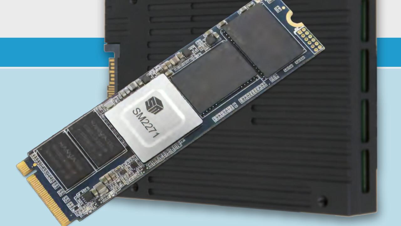 SM2271: Silicon Motion bringt 8-Kanal-Controller für Enterprise-SSDs