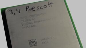 Im Test vor 15 Jahren: Intels Pentium 4 Prescott war auch mit 3,4 GHz ein Flop
