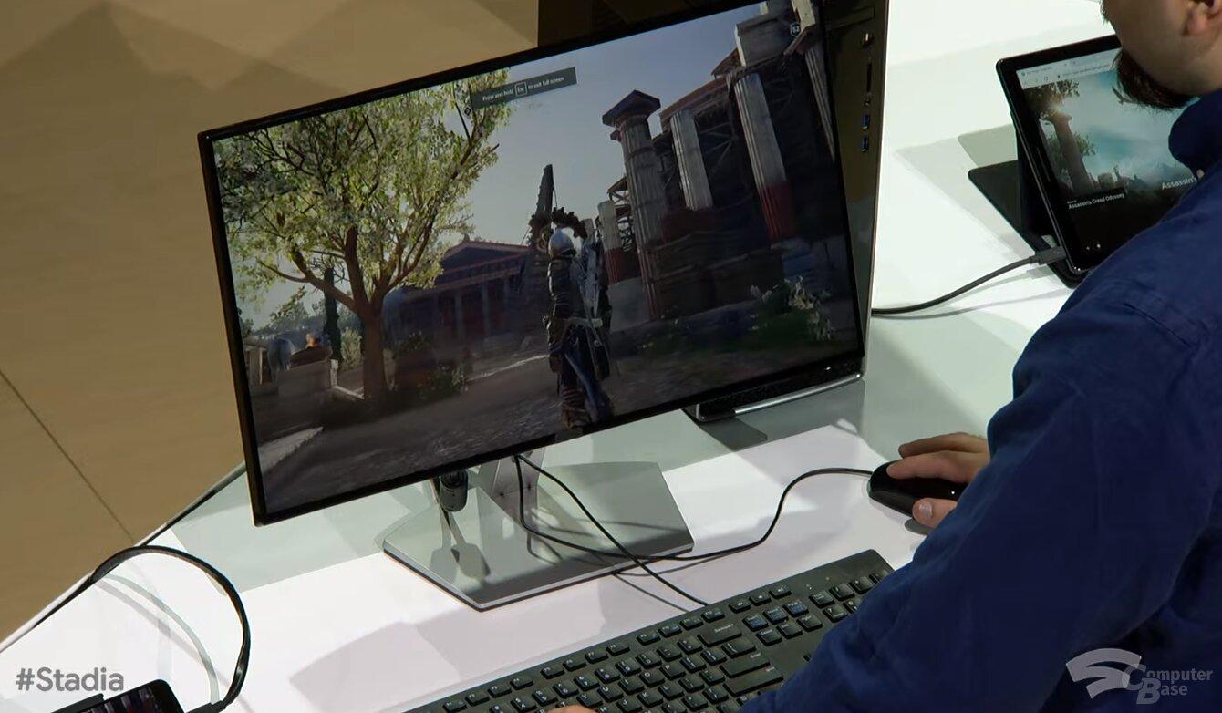 Stadia auf dem PC