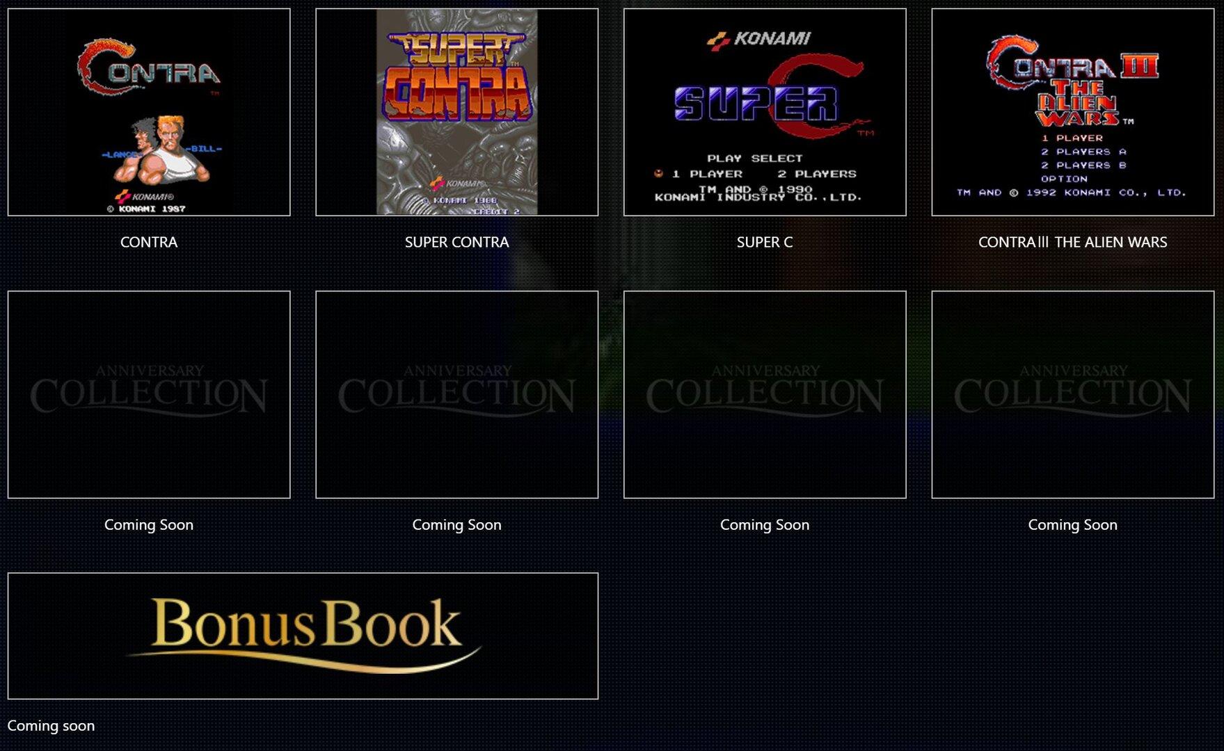 Inhalt der Contra Collection