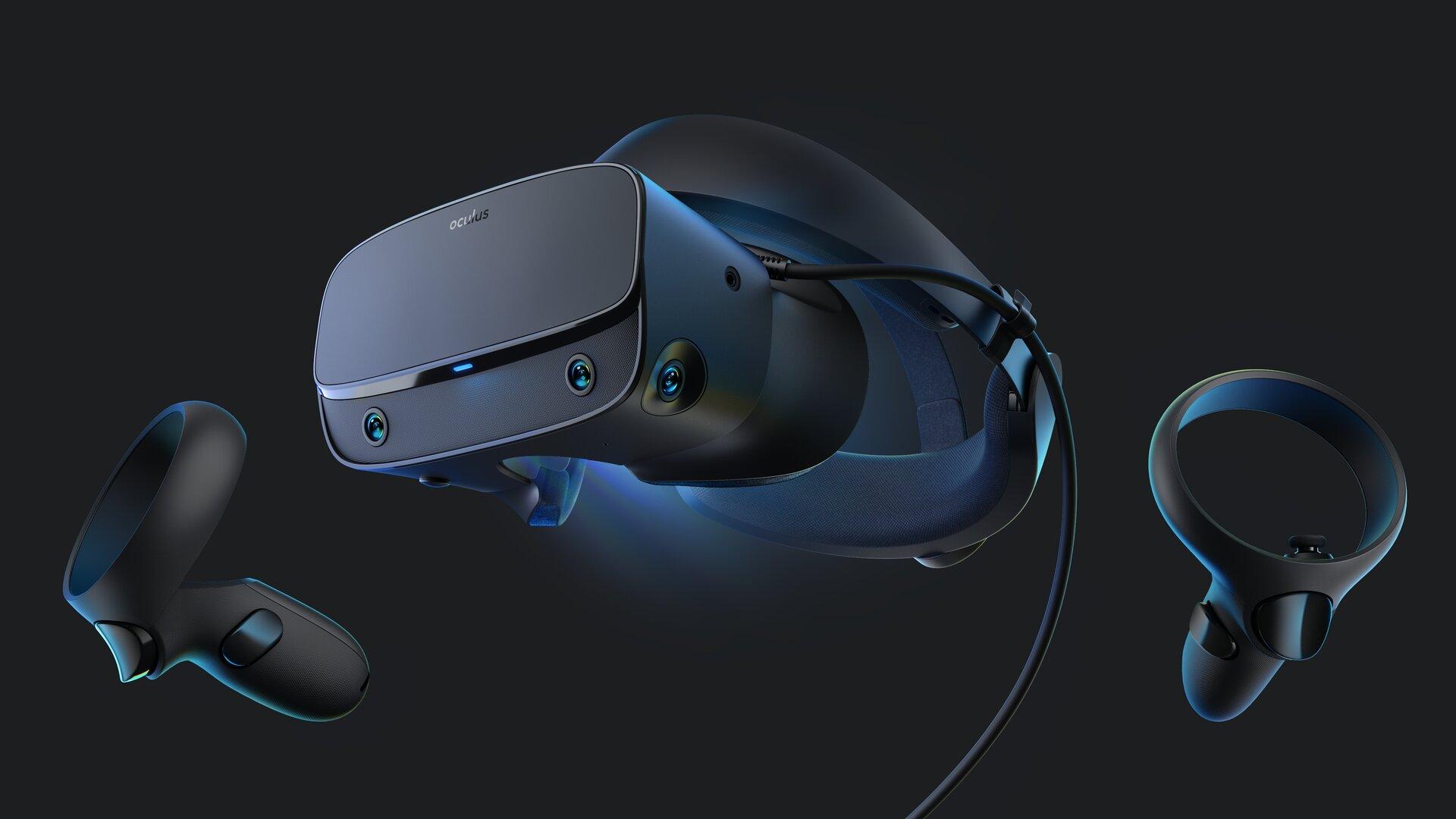 Oculus Rift S trackt die Controller mit fünf Sensoren