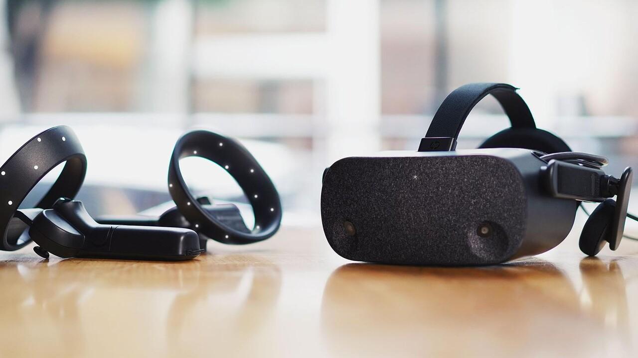 HP Reverb: WMR-Headset mit 4K und etwas größerem Sichtfeld