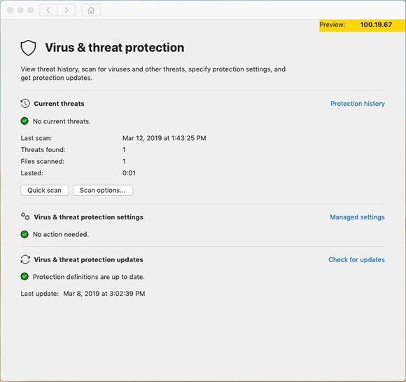 Microsoft Defender ATP für Mac