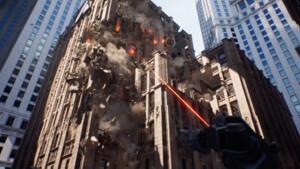 Tech-Demo: Chaos bringt Zerstörung der Spielwelt in die Unreal Engine