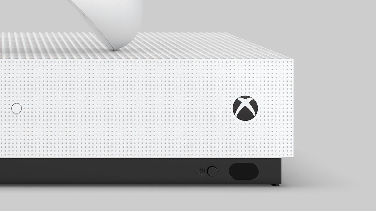 Xbox One S All-Digital: Bilder der Konsole verraten neue Details