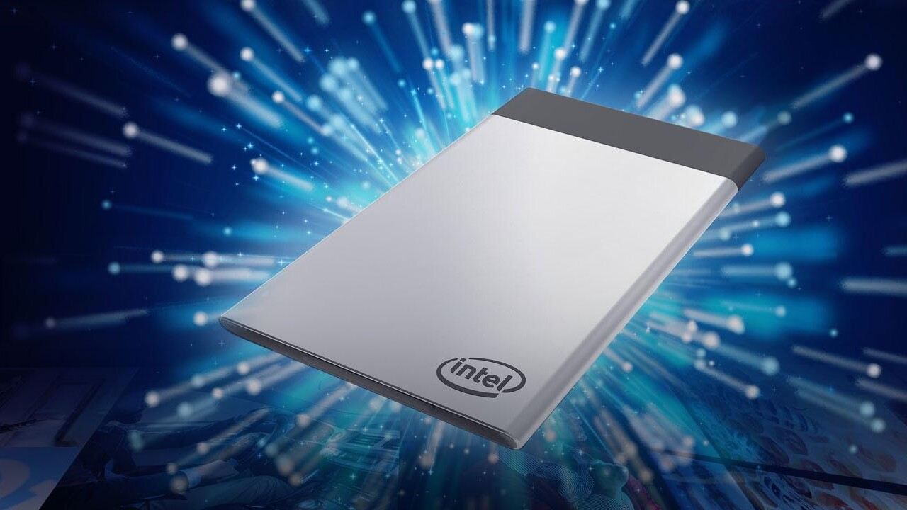 Compute Card: Intel stellt PC-Modul im Kreditkartenformat ein