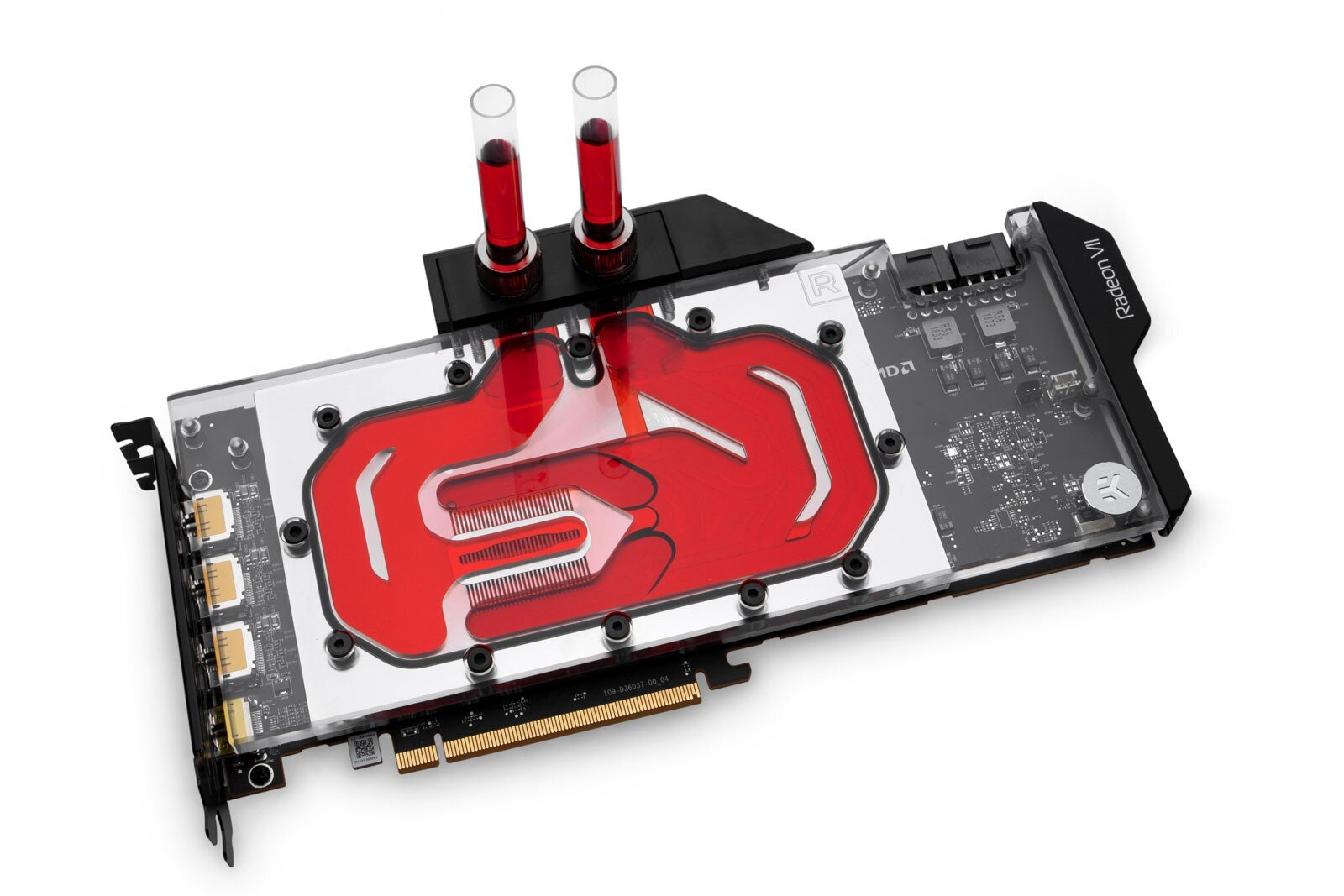 EKWB Vector Radeon VII (Nickel Plexi RGB)
