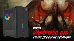 MSI Mag Vampiric 010: Gehäuse sucht Verbindung zu Dracula