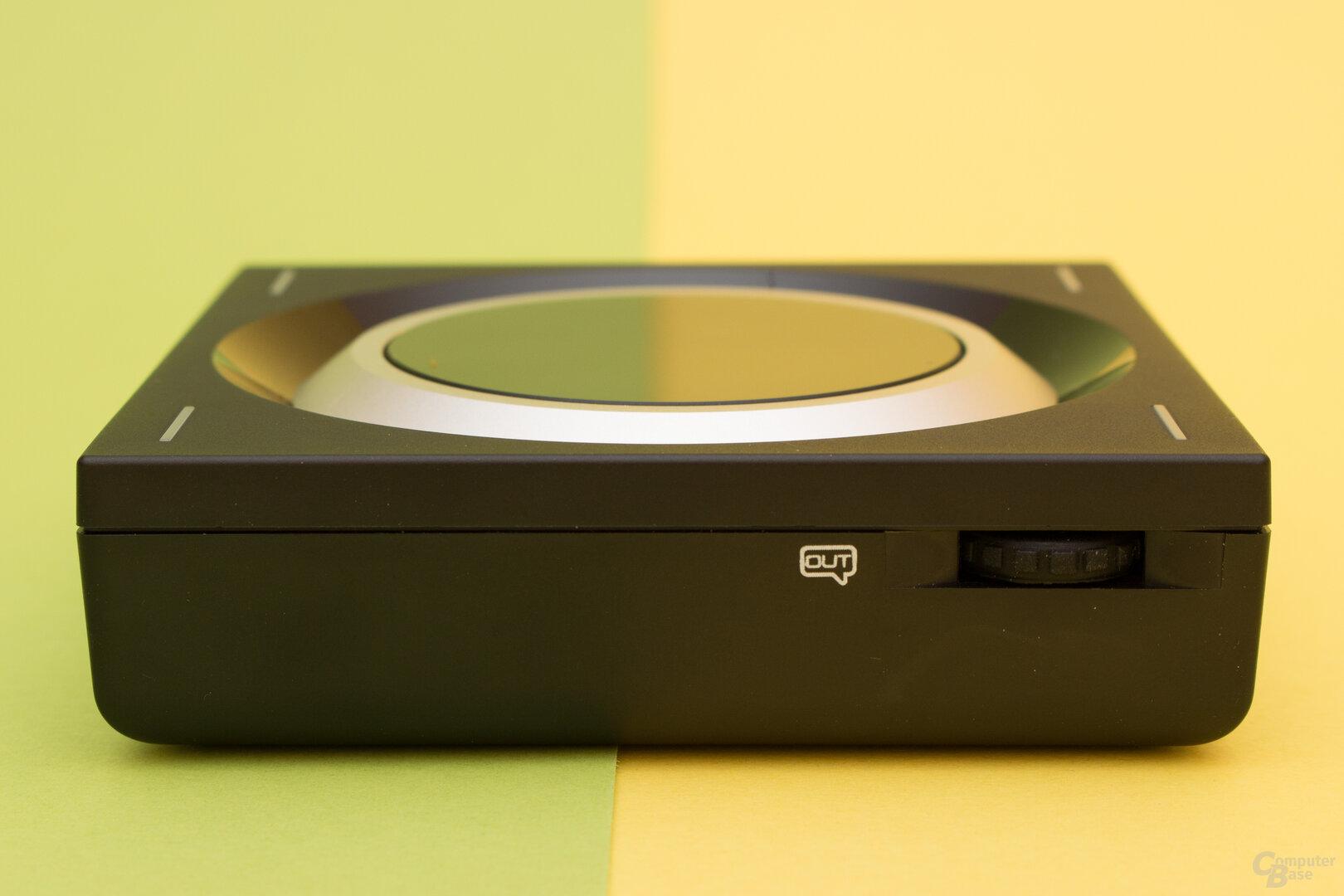Regler für Ein- und Ausgang beim Sennheiser GSX 1200 Pro