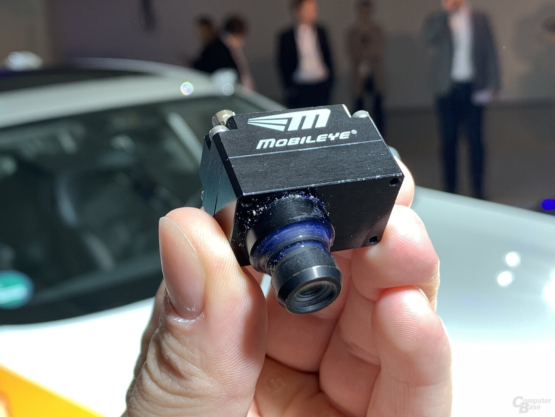 Kamera für autonomes Fahren von Mobileye