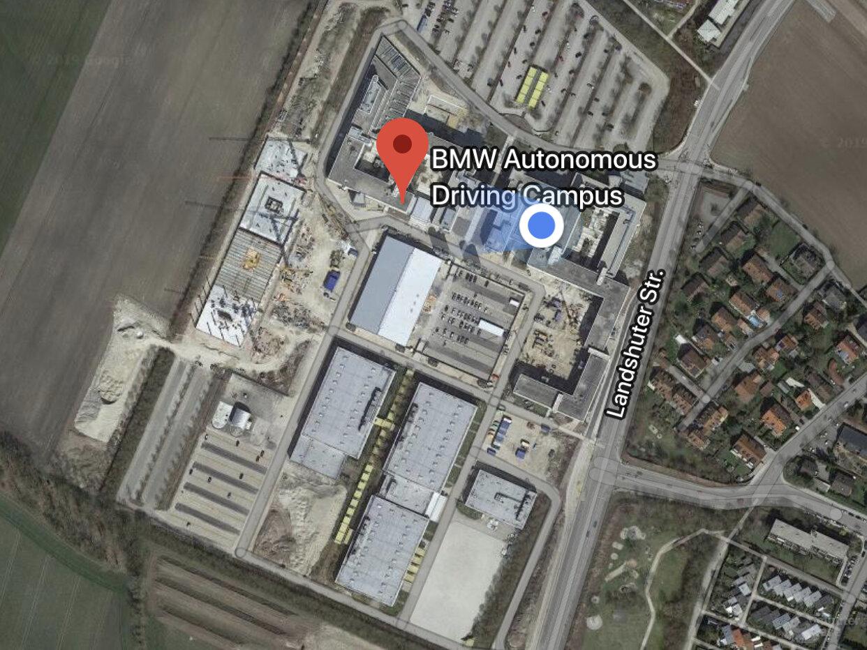 Autonomous Driving Campus (HiL-Stationen Baustelle links)