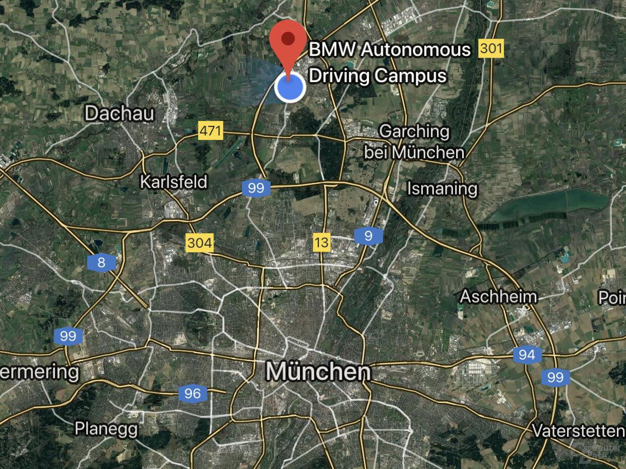 Autonomous Driving Campus nördlich von München