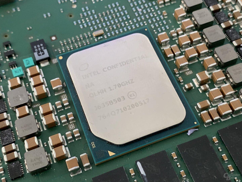 Platine mit 2 Intel Denverton, 16 GB RAM und 2 Mobileye EyeQ5