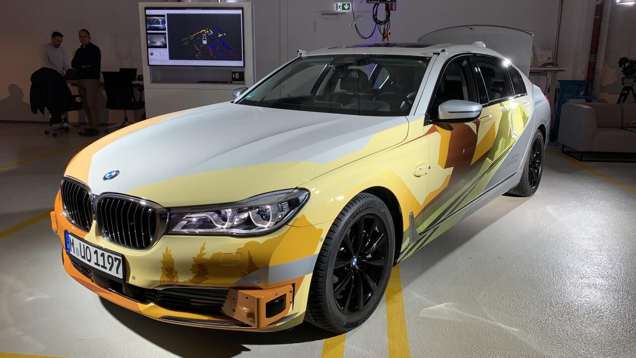 iNEXT: Ein Einblick in BMWs Data Center für autonomes Fahren