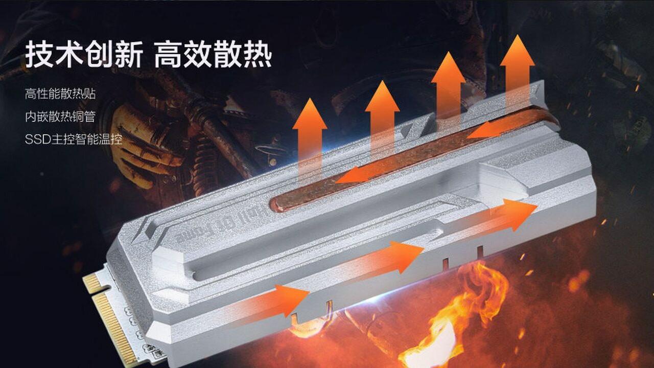 Galax HOF: Erste M.2-PCIe-SSD mit Heatpipe-Kühler