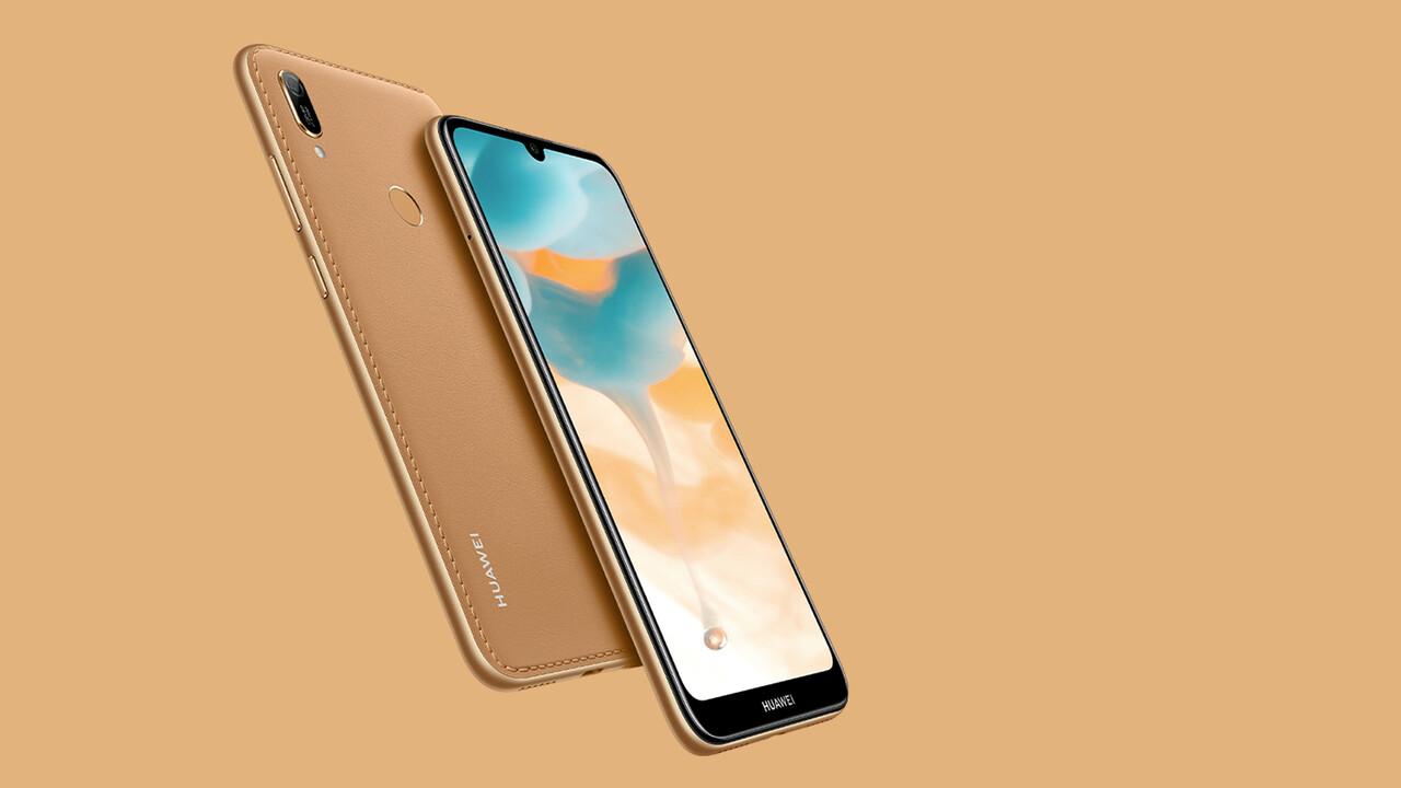 Huawei Y6 2019: 150-Euro-Smartphone mit Rückseite aus Kunstleder