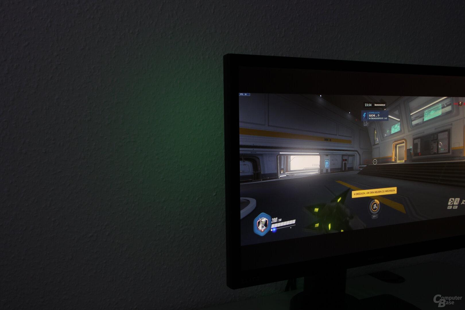 RGB-Beleuchtung des ViewSonic XG240R