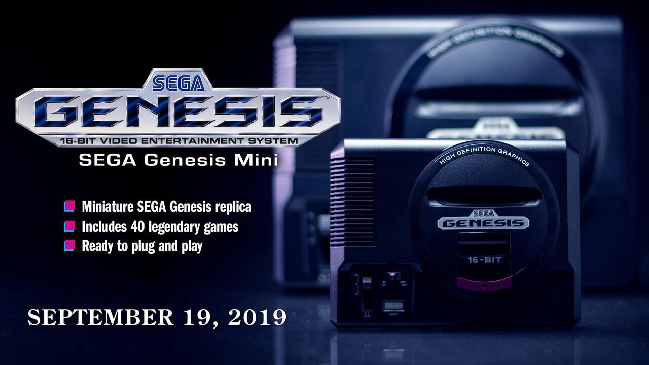 Sega Mega Drive Mini: Kleine Retro-Konsole erscheint am 19. September