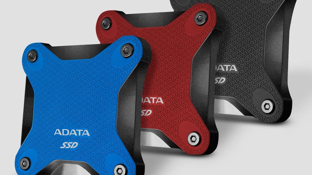 Adata SD600Q: Erste externe SSD mit QLC‑Speicher