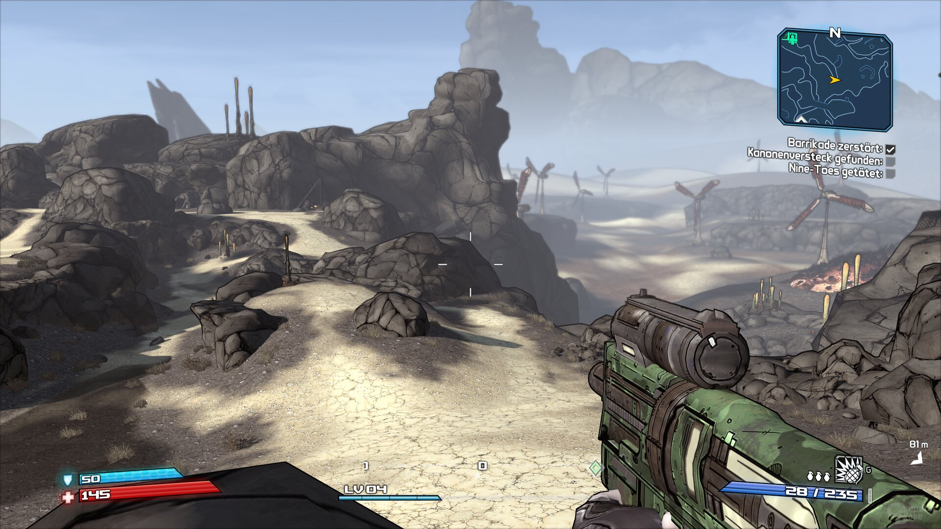 Borderlands GOTY im Technik-Test