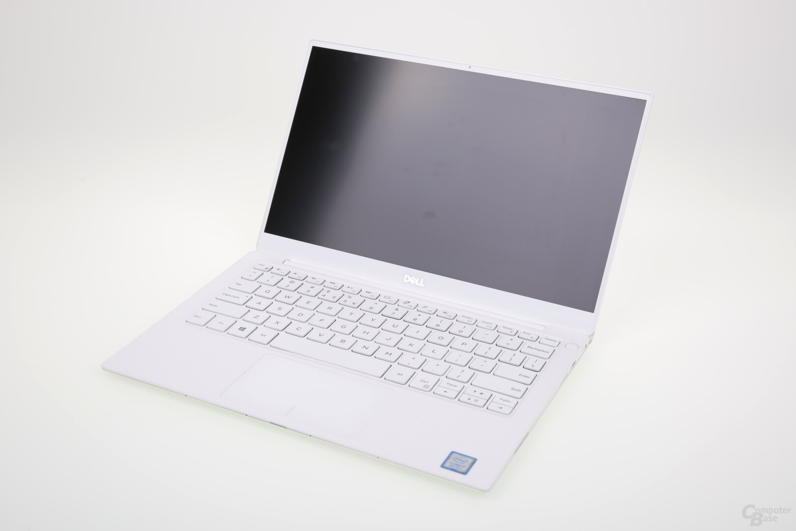 Das weiße Modell ist innen aus Glasfasergewebe gefertigt